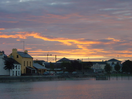 ... not to speak of the special effects at dawn (Athlone) ...
