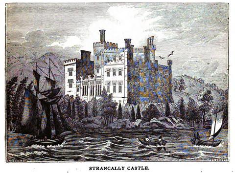Strancally Castle 1834