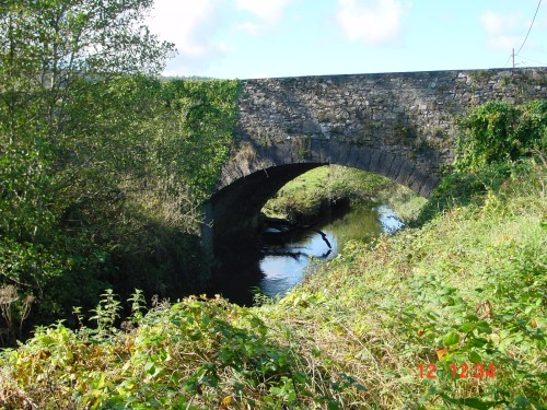 The road-bridge at Portlaw