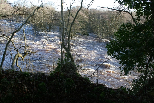 The (much diminished) Falls of Doonass