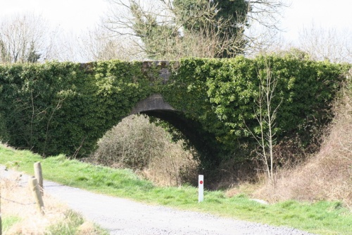 The first bridge on the Mountmellick Line, at the junction with the Barrow Line of the Grand Canal