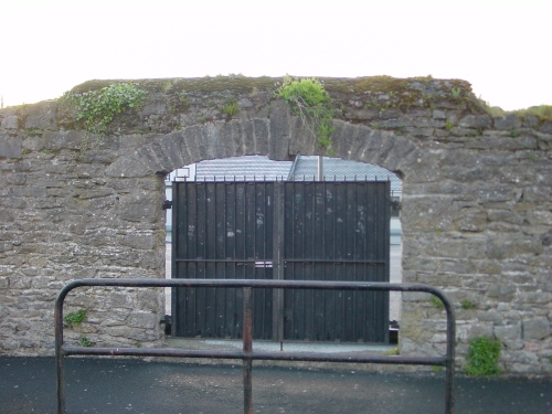 A gate near the old harbour