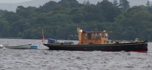 The Phoenix on Lough Derg in 2008