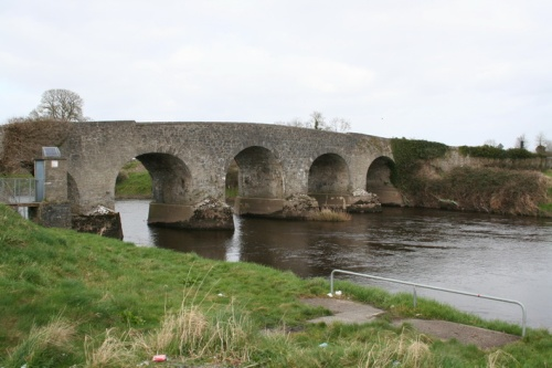 The Portarlington road bridge