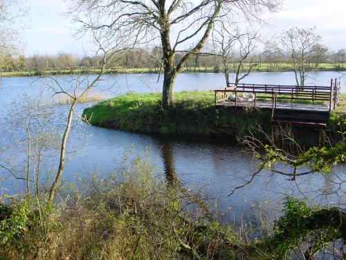 The junction of the Plassey–Errina Canal with the Shannon below O'Briensbridge
