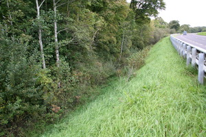 ... is what might be a ditch – or a canal