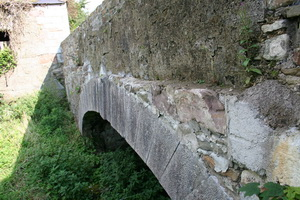 Looking along the bridge