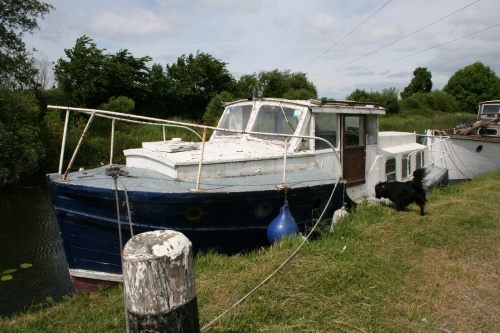 Delight at Shannon Harbour June 2009. Could this (like Lady Josephine, below) be an ex-Broads hire-boat?