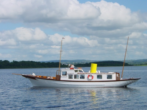 Trasna on Lough Erne
