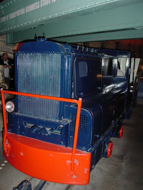 "Planet (S G Hibbert) 1' 10"" gauge diesel locomotive"
