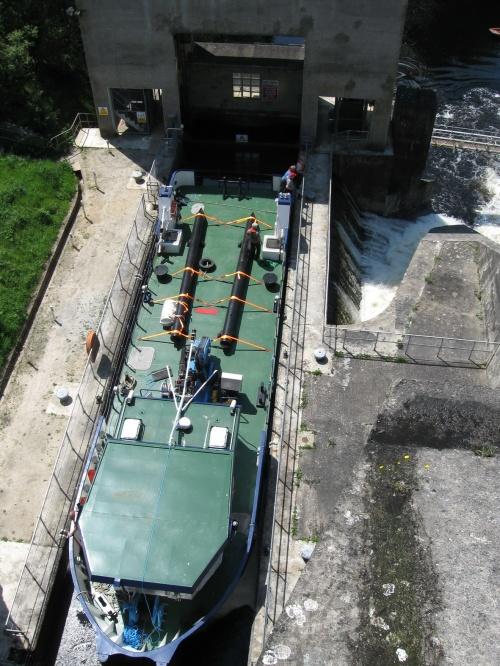Inis Cealtra in Ardnacrusha lock