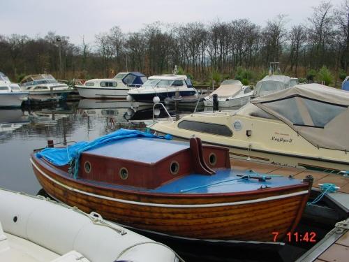 Wooden sailing boat at Kincora