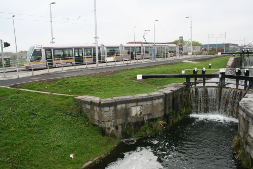 The LUAS at Lock 1