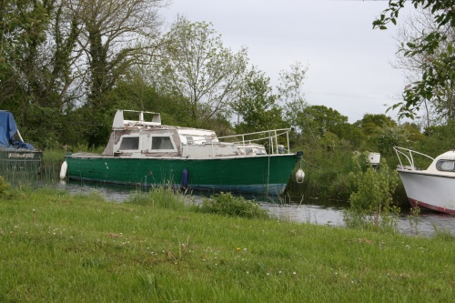 Another unidentified boat at Shannon Harbour