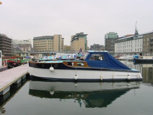 Vicki May in Grand Canal Docks, Dublin