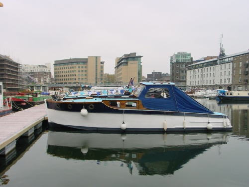 Vicki May in Grand Canal Docks, Dublin