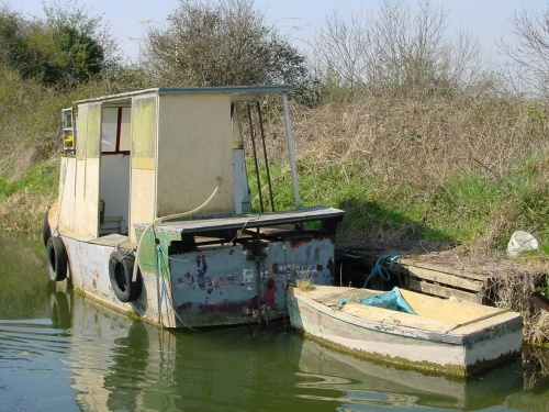 Boat at Hazelhatch on the Grand Canal