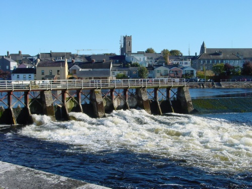 The sluices at Athlone Lock