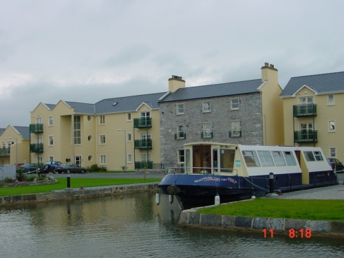 Saoirse ar an Uisce at the Bell Harbour in Monasterevan