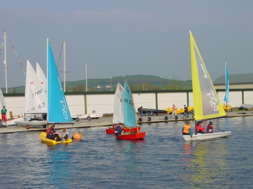 Dinghies at LDYC
