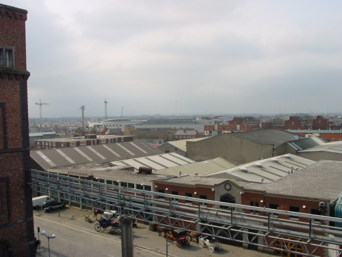 Grand Canal Harbour from the Guinness Storehouse