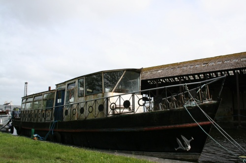 Gertie at Shannon Harbour