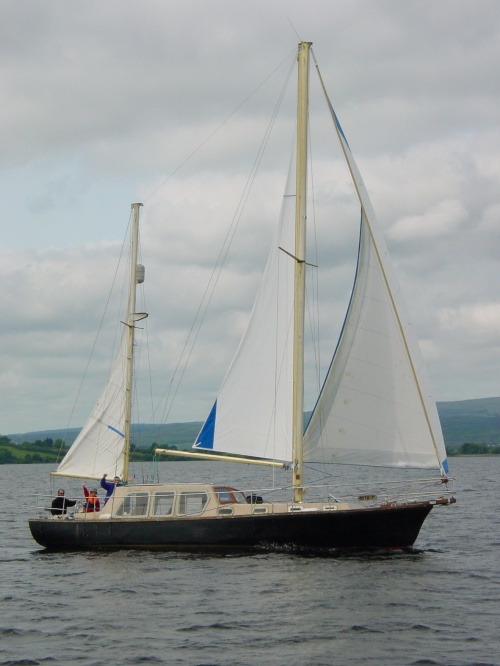 Ketch Rita on Lough Derg