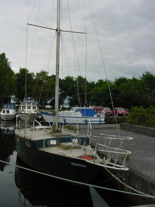 Immram at Dromaan on Lough Derg