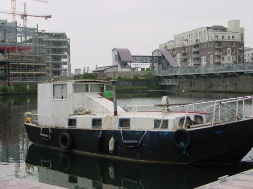 Interesting shape in Grand Canal Docks, Ringsend, Dublin
