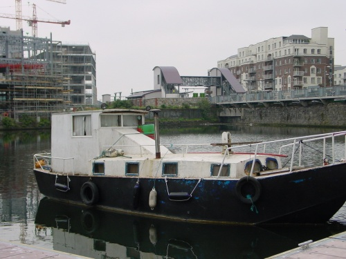Interesting shape in Grand Canal Docks, Ringsend, Dublin