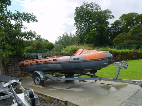 Killaloe Coast Guard's smaller boat