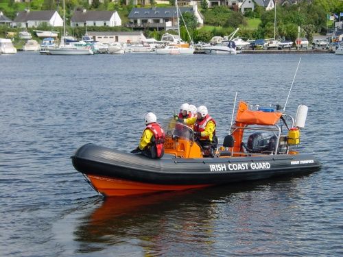 Killaloe Coast Guard's larger boat
