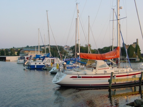 Lough Derg Yacht Club in Dromineer