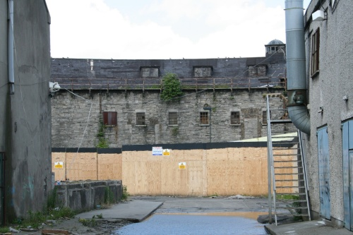 The back of the Ballinasloe store