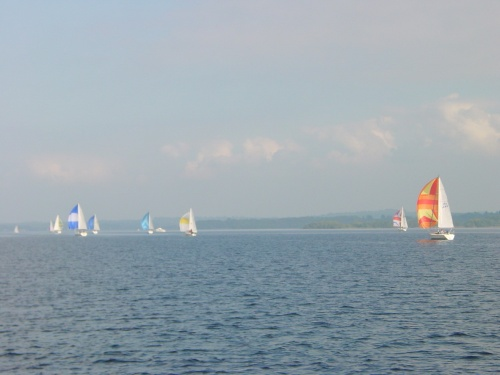 Sailing on Lough Derg