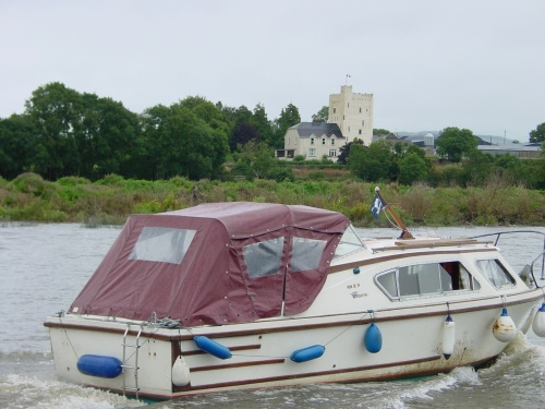 Cruiser Rindoon at Tybroughney Castle