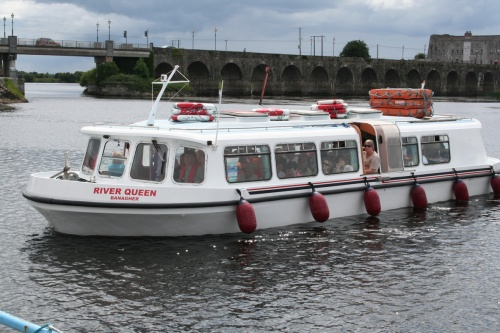 River Queen at Shannonbridge