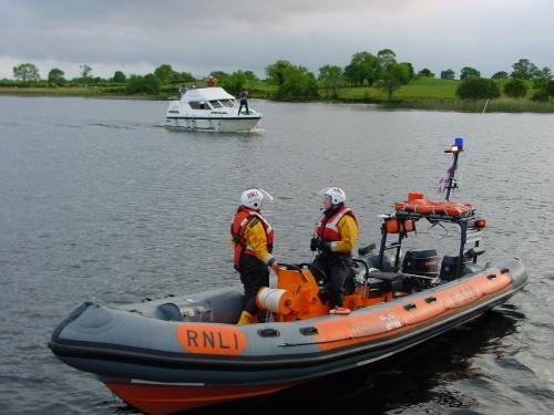 RNLI's Dromineer boat at Rossmore