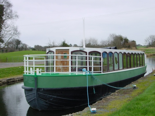 Float No 3 at Thomastown on the Royal Canal