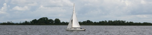 Sailing on Lough Ree (July 2009)