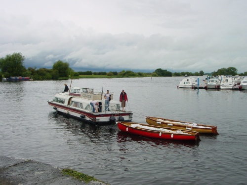 Towing Shannon One-Designs through Banagher