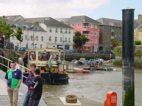 ... as the fleet is heading for the St John's River ...