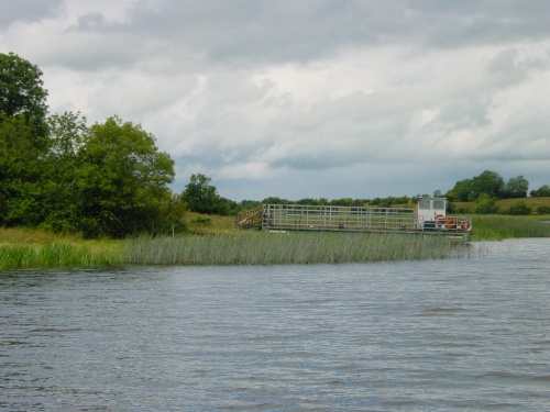Islander cattle ferry on Upper Lough Erne