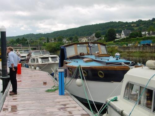 Cruiser Vicki May at the marina