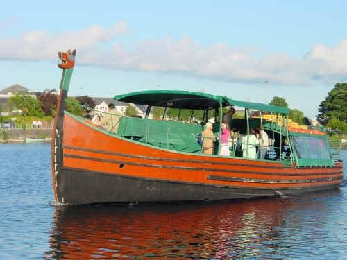 Viking trip-boat based in Athlone