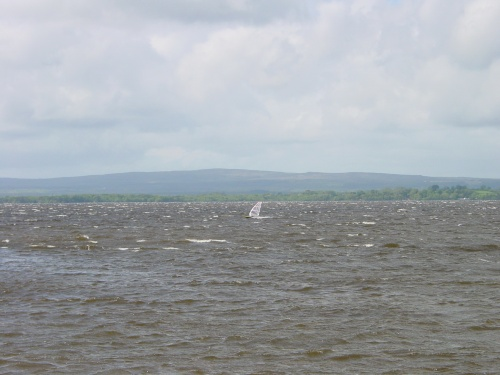Windsurfer off Dromineer