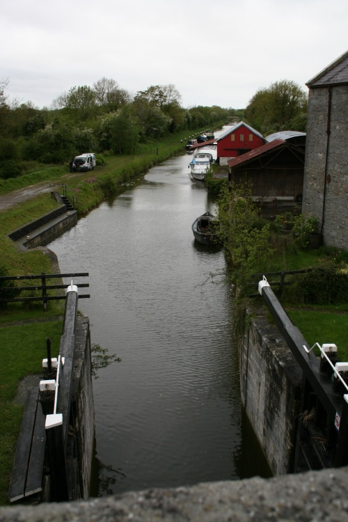 Looking downstream from the bridge