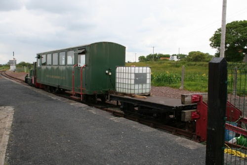 Rolling stock on the Kilrush branch (which goes no further)