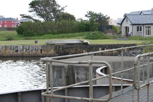 The quay near the lock