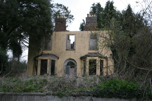 Abandoned house at St Mullins
